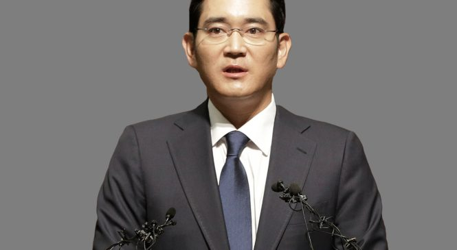 Samsung Heir Sentenced to 5 Years In Jail