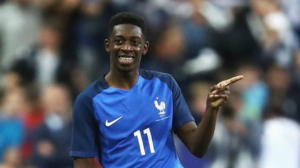 Barcelona Sign Ousmane Dembele for £97m - Newslibre