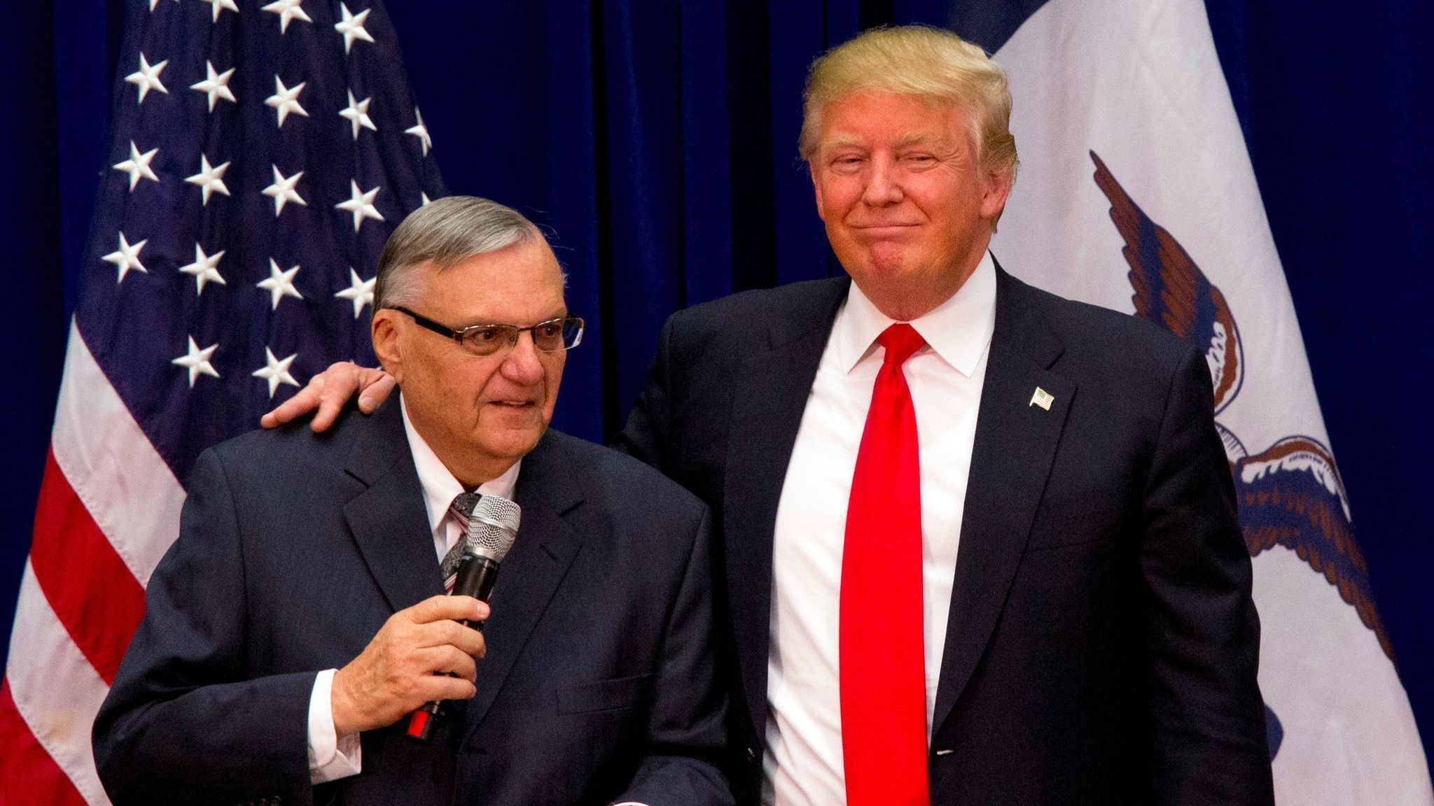 Trump Pardons Joe Arpaio a former Arizona Sheriff - Newslibre