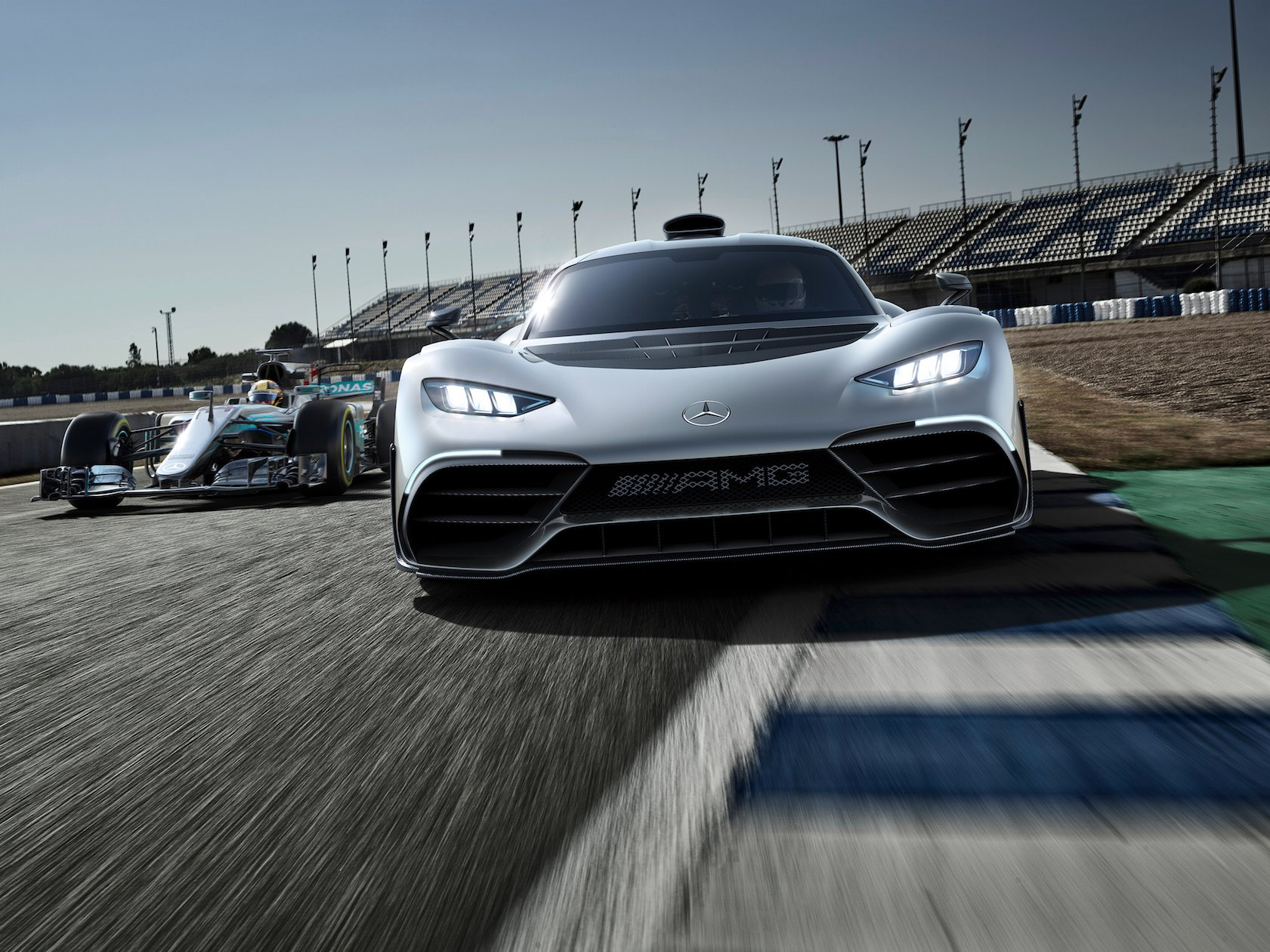 Mercedes AMG Project One Hyper Car Unveiled - newslibre.com