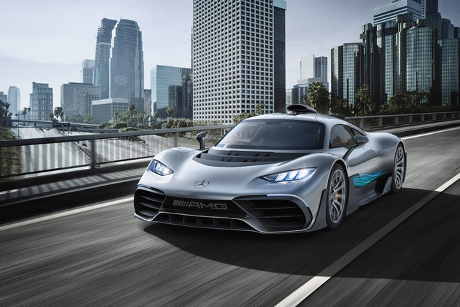 Mercedes AMG Project One Hyper Car Unveiled 1