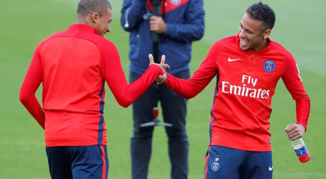 PSG's Multi-million Pair Set to Play Together this Friday