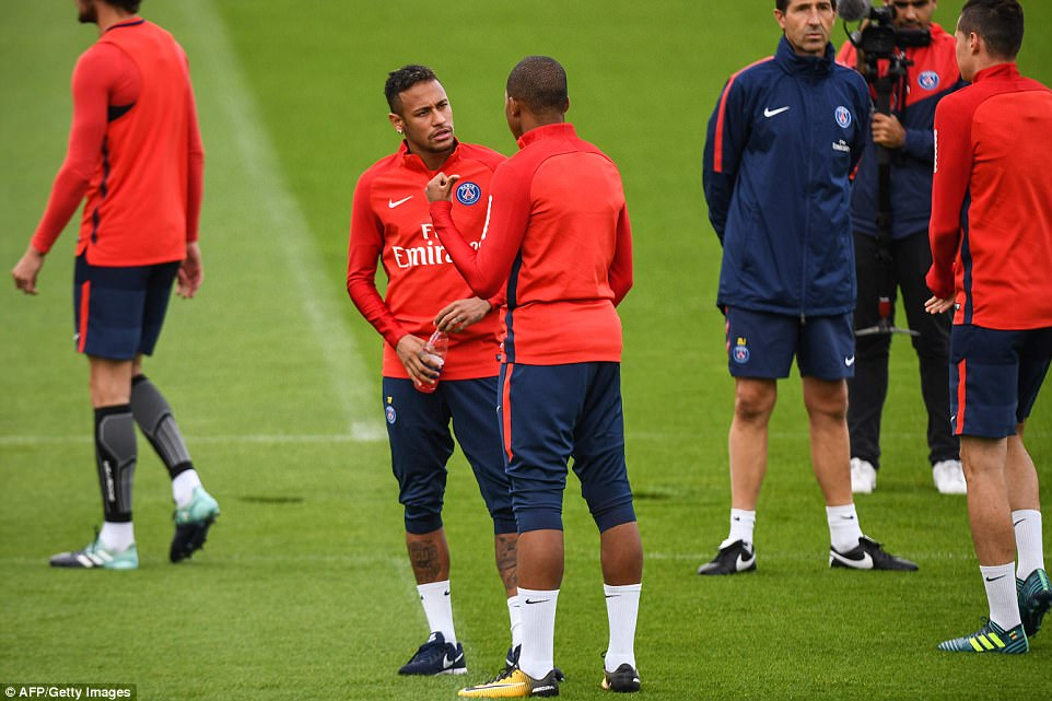 PSG's Multi-million Pair Set to Play Together this Friday 4