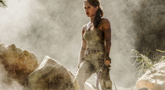 Lara Croft Tomb Raider Reboot 2017 Trailer
