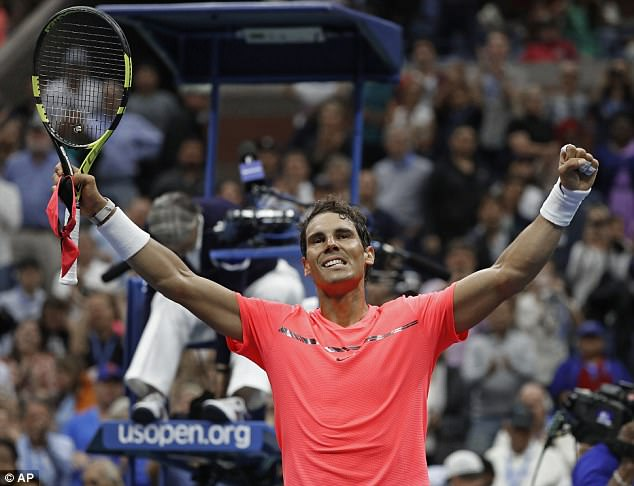 The US Open Final matches Kevin Anderson against World No 1 Rafael Nadal 3