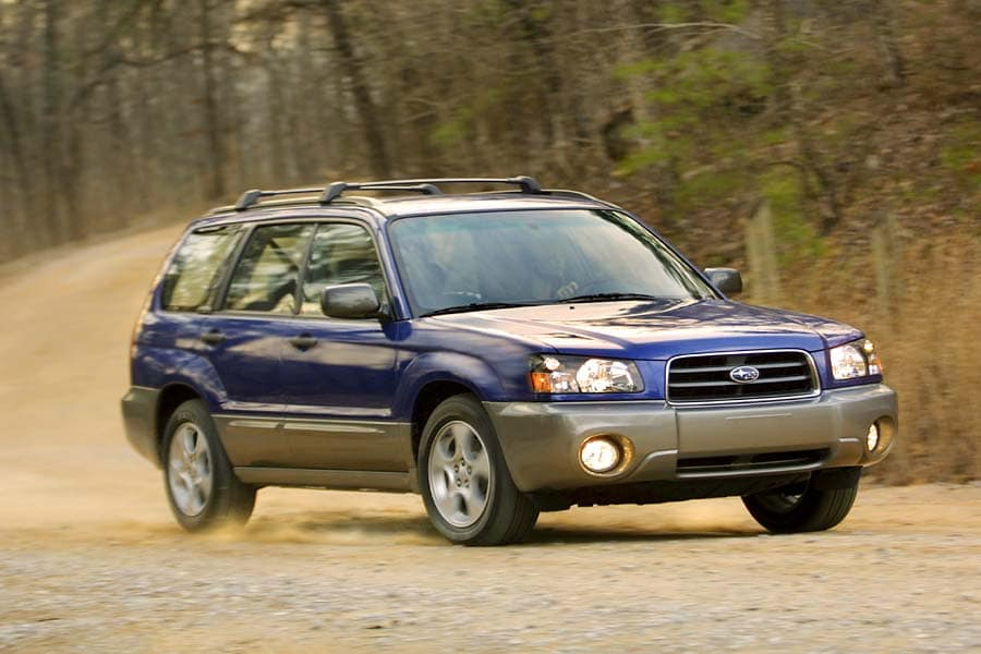 REVIEWS BY IAN PAUL: 2004 Subaru Forester X (normally aspirated / Non-turbo) | Newslibre.com