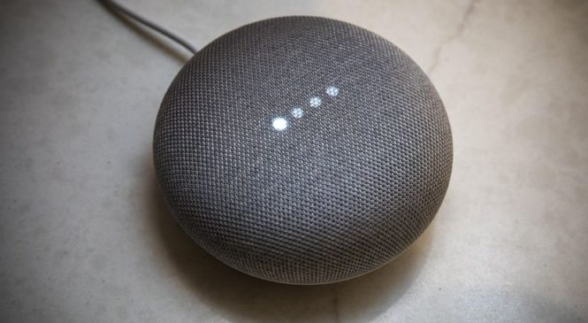 Google's Home Mini Drops Top Touch Function