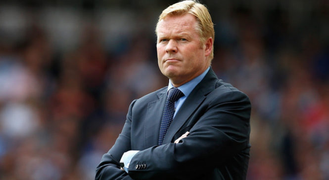 Ronald Koeman Sacked by Everton