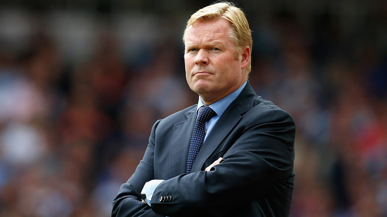 Ronald Koeman Sacked by Everton 1