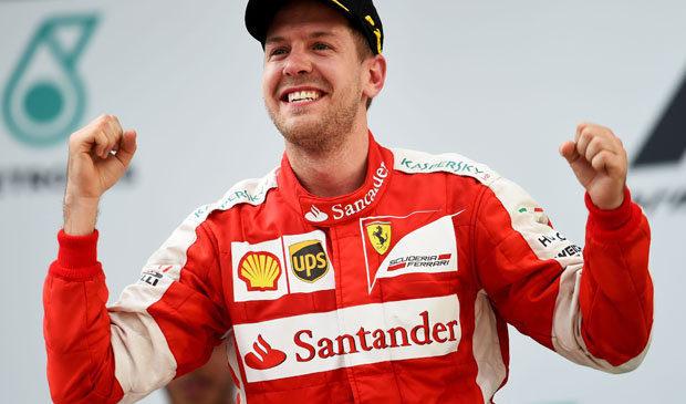 Sebastian Vettel: Fastest at Japanese Grand Prix