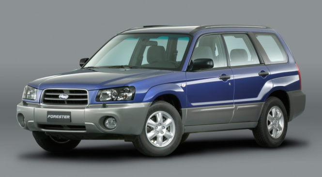 REVIEWS BY IAN PAUL: 2004 Subaru Forester X (normally aspirated / Non-turbo)