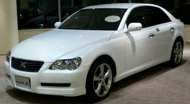 REVIEWS BY IAN PAUL: 2007 Toyota Mark X
