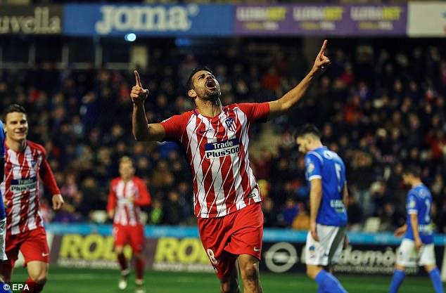 Diego Costa Makes Eventful Return To Athletico Madrid   Newslibre