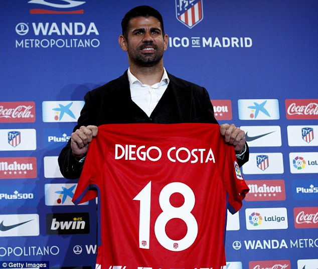 Diego Costa Makes Eventful Return To Athletico Madrid | Newslibre