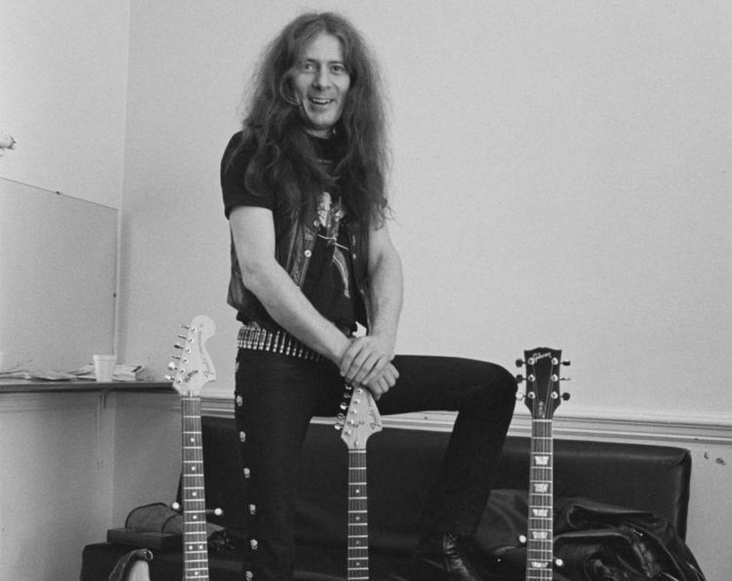 Motorhead Guitarist Fast Eddie Clarke - Newslibre