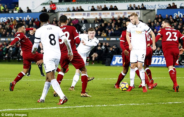 Swansea City Stun English Giants Liverpool