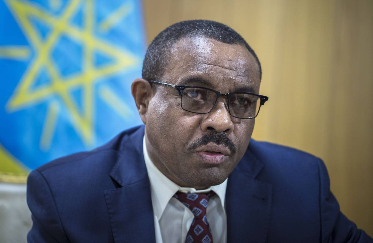 Ethiopia's Prime Minister Hailemariam Resigns Amid Protests and Political Unrest - Newslibre