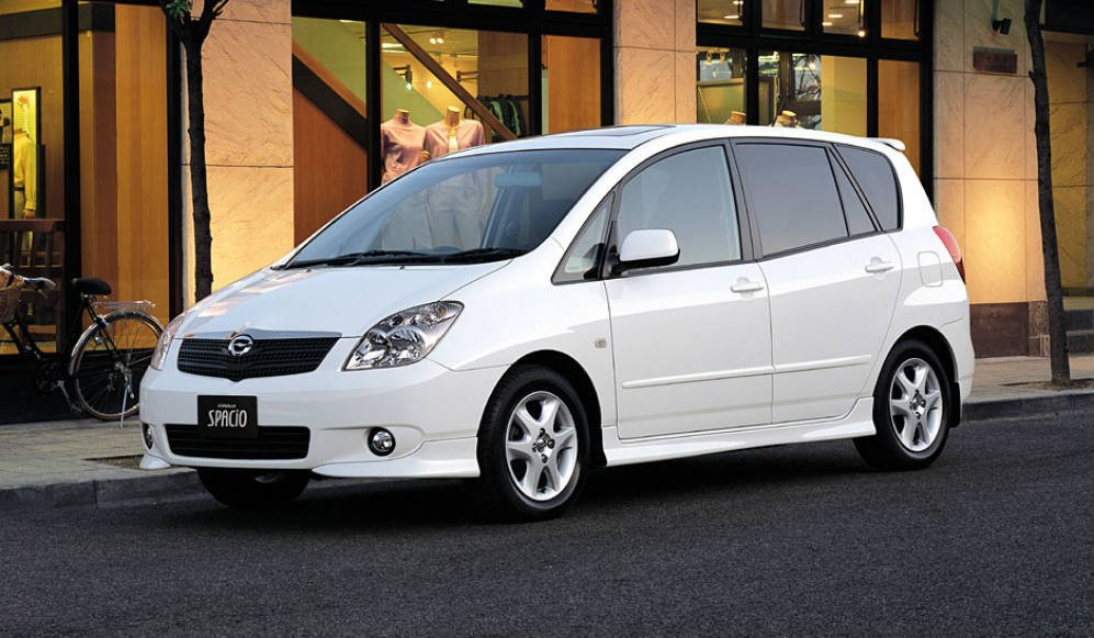 REVIEWS BY IAN PAUL: 2004 Toyota Spacio | newslibre.com