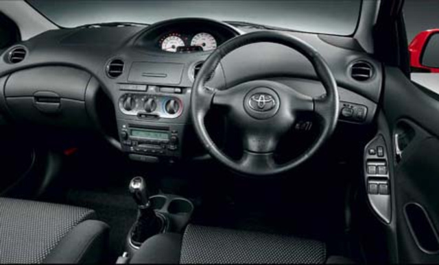 REVIEWS BY IAN PAUL: 2003 Toyota Vitz | Newslibre.com