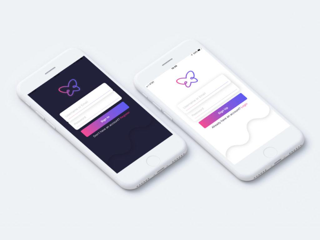 Trill iOS app sign up - Newslibre
