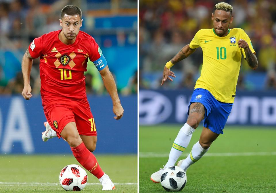 Brazil vs Belgium: Golden generation vs Pedigree 2