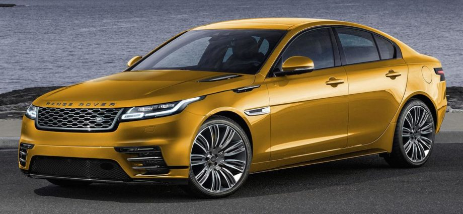 Dear Range Rover, a Sedan? Yes Please! | newslibre.com
