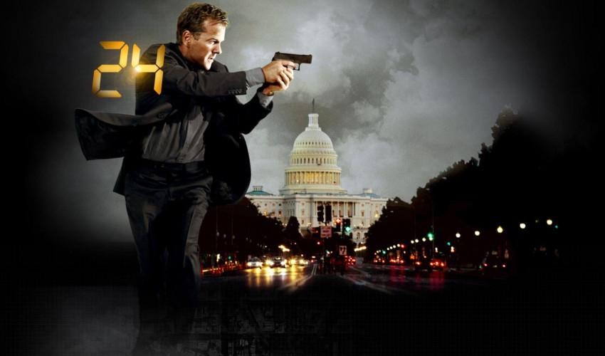 24 Kiefer Sutherland as Jack Bauer - Newslibre