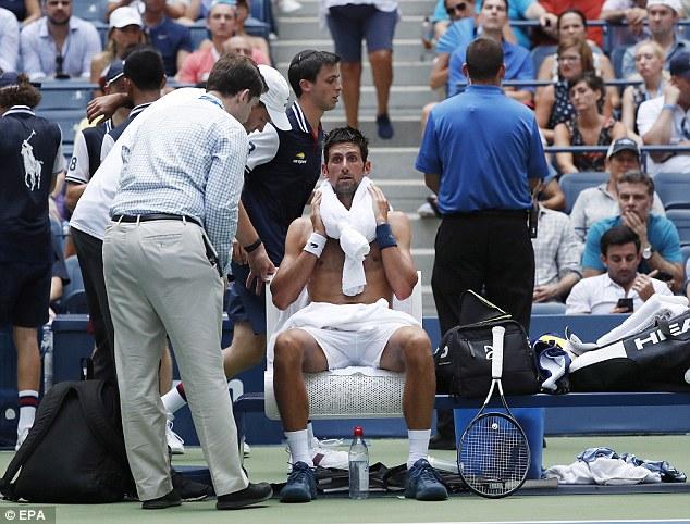 Novak Djokovic Goes Through Despite Dropping a Set 3