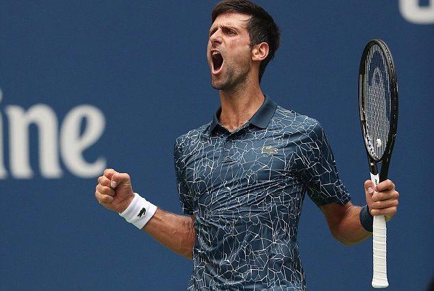 Novak Djokovic Goes Through Despite Dropping a Set 1