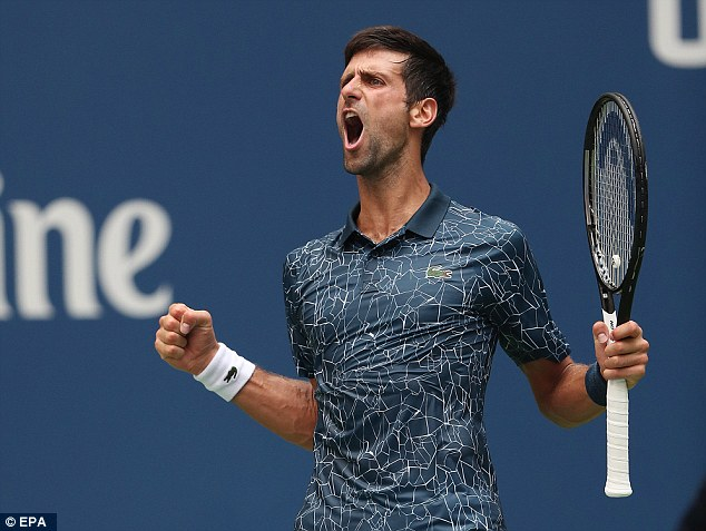 Novak Djokovic Goes Through Despite Dropping a Set 4