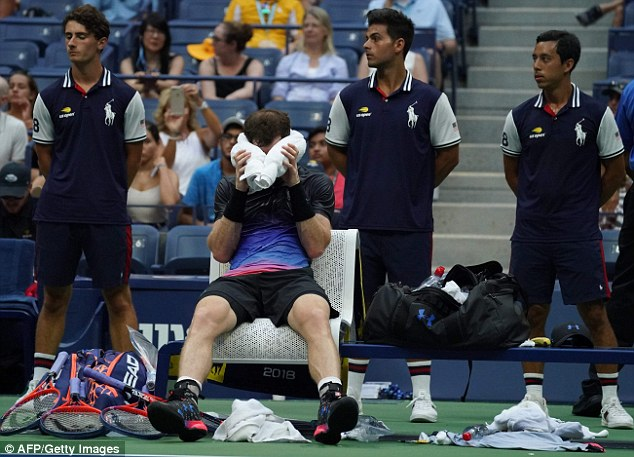 Shock as Murray Crashes out of US Open 3