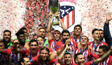Athletico Madrid edge Real Madrid to Win UEFA Super Cup 5