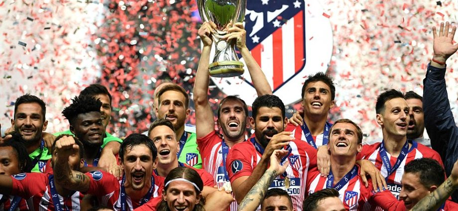 Athletico Madrid edge Real Madrid to Win UEFA Super Cup 1