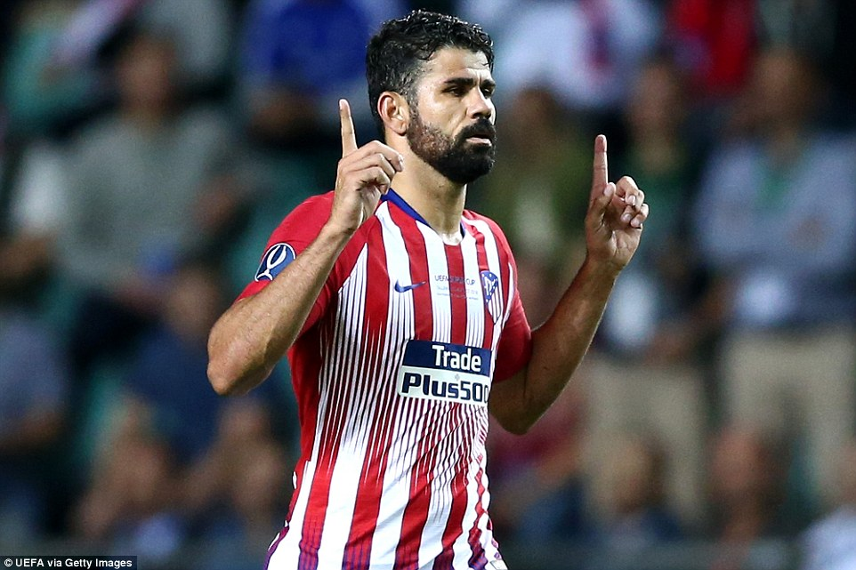 Athletico Madrid edge Real Madrid to Win UEFA Super Cup 2