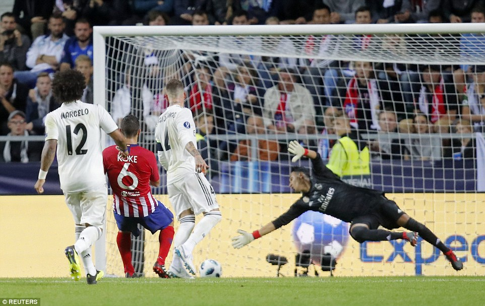 Athletico Madrid edge Real Madrid to Win UEFA Super Cup 4