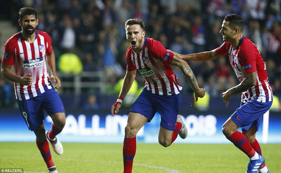 Athletico Madrid edge Real Madrid to Win UEFA Super Cup 3