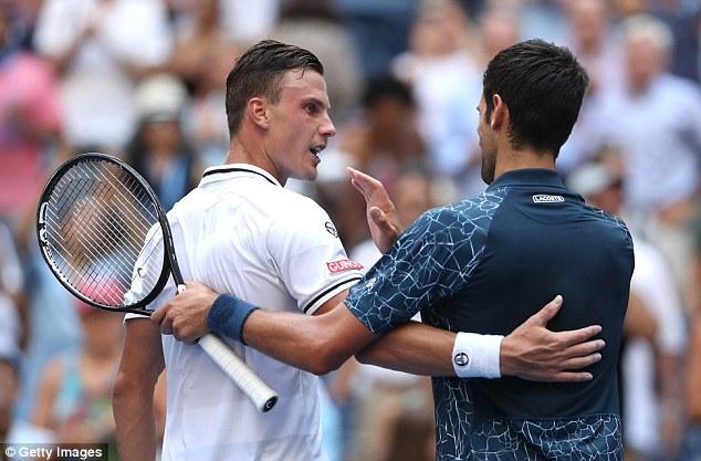 Novak Djokovic Goes Through Despite Dropping a Set 2