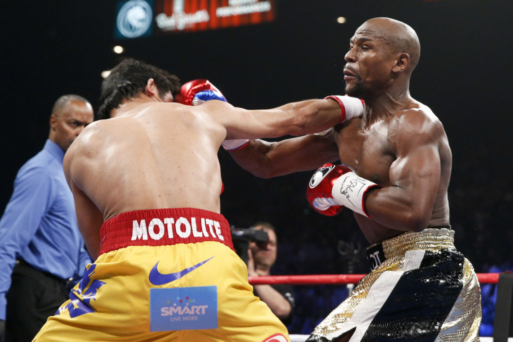 Mayweather and Manny Pacquaio to Ramble Again 2