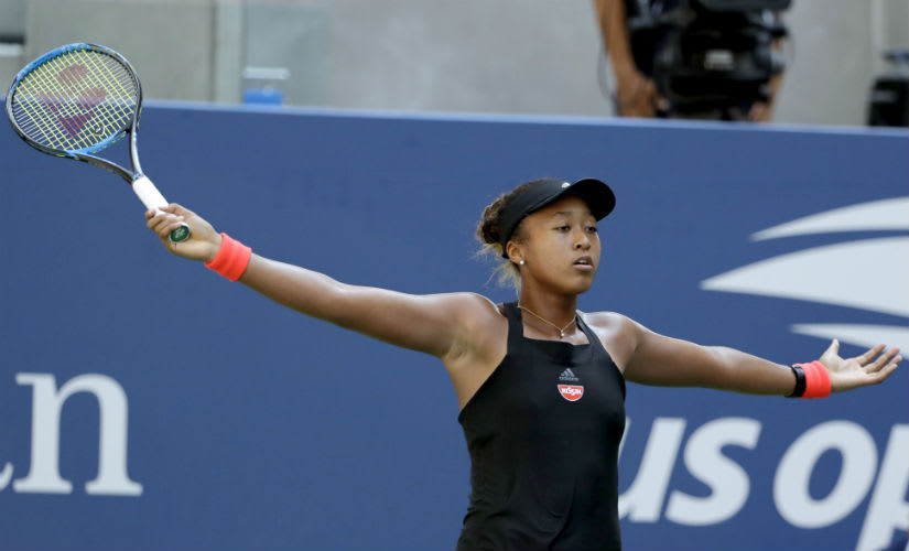 Naomi Osaka Cruises to Her First Grand Slam Semi Final 2