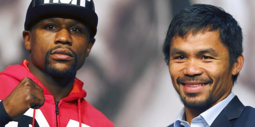 Mayweather and Manny Pacquaio to Ramble Again 1