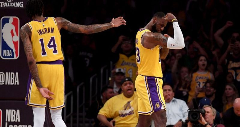 LA Lakers Give LeBron James His First Win in the Purple and Gold City 1