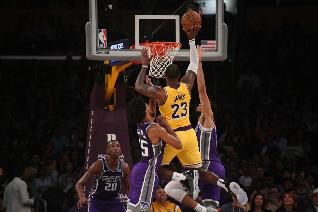 LA Lakers Give LeBron James His First Win in the Purple and Gold City 2