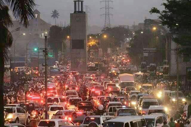 How to Survive this Rainy Season's Evening Traffic Jam - Newslibre.com