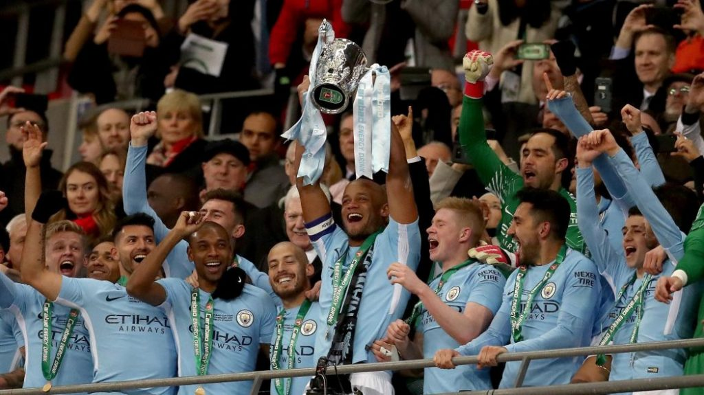 Manchester City Win the Carabao Cup After Defeating Chelsea 5