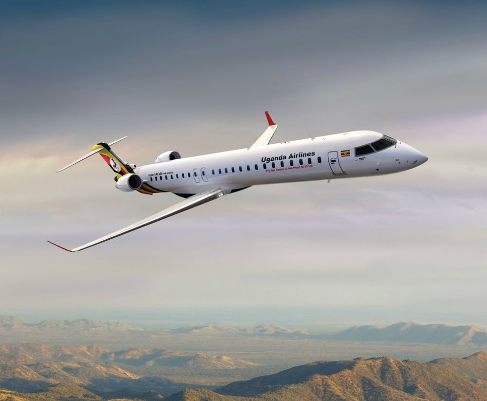The Facts About Uganda Airlines Bombardier CJR900 Planes - Newslibre