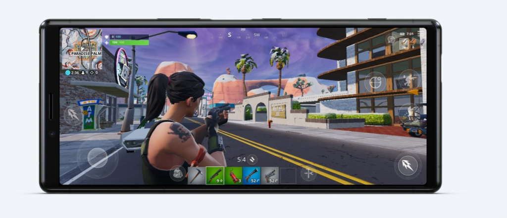 Gaming on Sony Xperia 1 - Newslibre