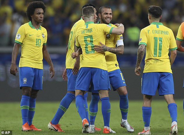 Brazil Knock Out Messi's Argentina In Copa America 3
