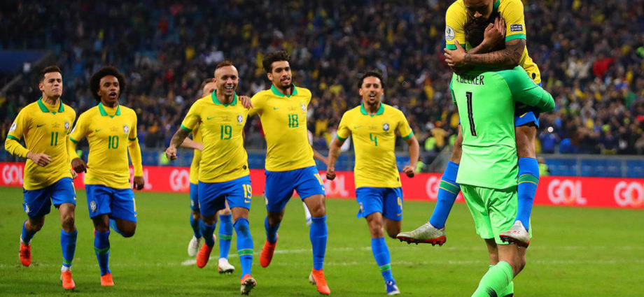 Brazil Knock Out Messi's Argentina In Copa America 1