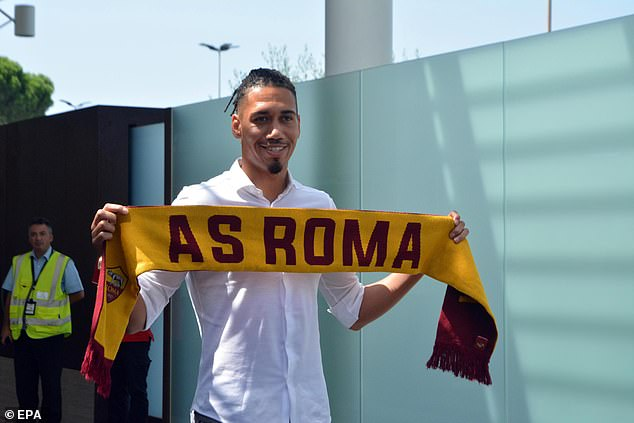 Chris Smalling Joins AS Roma on Season Long Loan 1