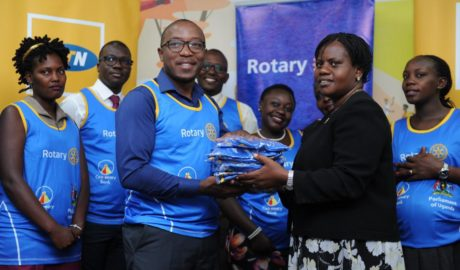 MTN Uganda Joins the Rotary Cancer Run 6